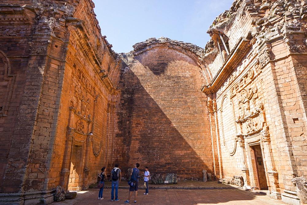 La Santisima Trinidad de Parana, UNESCO World Heritage Site, one of the best preserved Jesuit missions, Paraguay, South America
