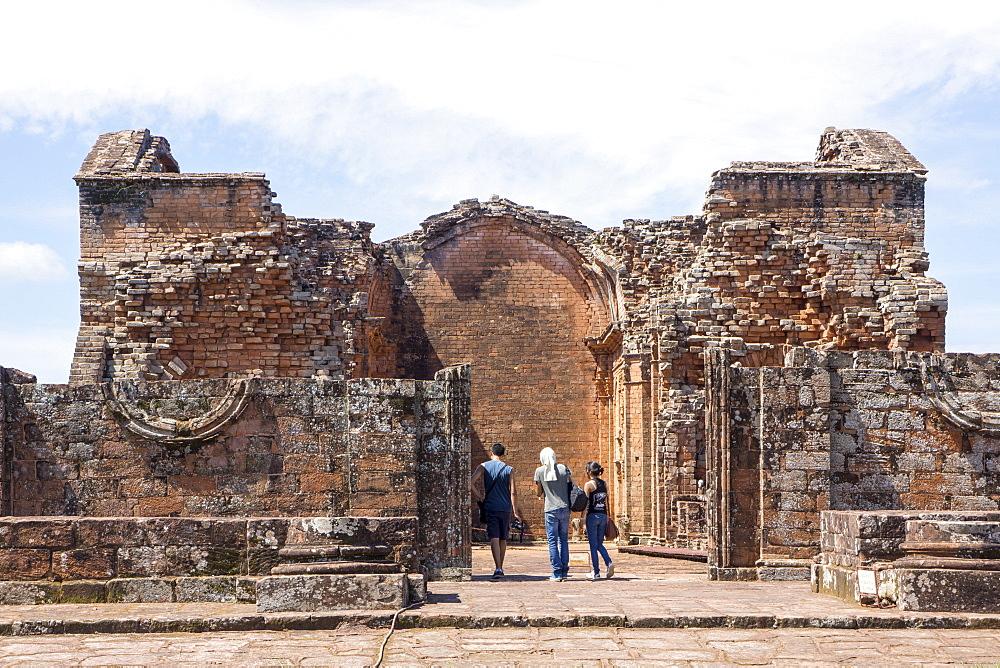 La Santisima Trinidad de Parana, one of the best preserved Jesuit Missions, UNESCO World Heritage Site, Paraguay, South America