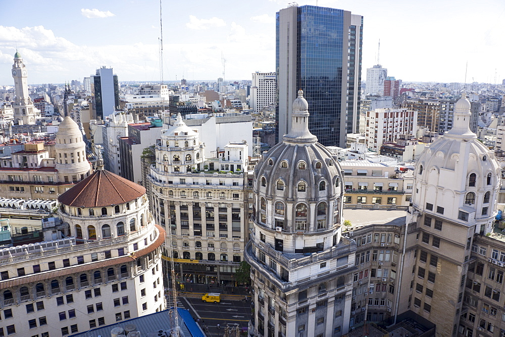 Aerial view of Buenos Aires, Argentina, South America