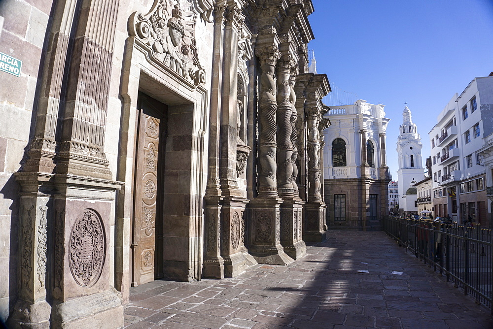 Iglesia de la Compania de Jesus, UNESCO World Heritage Site, Quito, Ecuador, South America