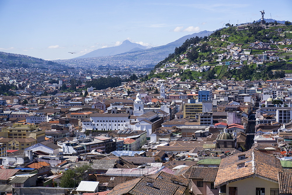 City view, Quito, Ecuador, South America