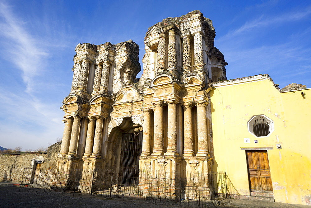 El Carmen ruin, Antigua, UNESCO World Heritage Site, Guatemala, Central America