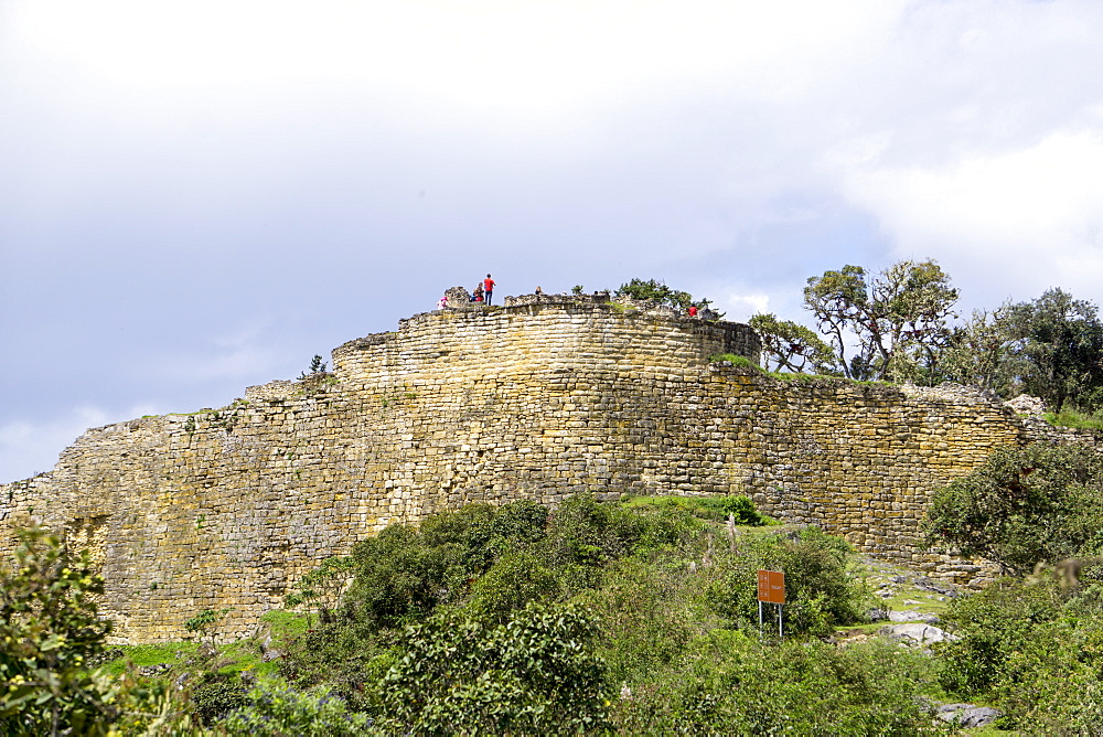 Fortress Kuelap, Chachapoyas culture, Peru, South America