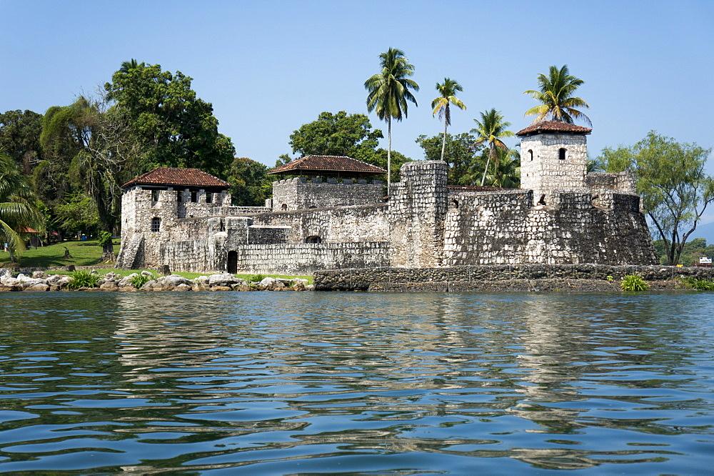 Fort San Felipe de Lara, Rio Dulce, Guatemala, Central America