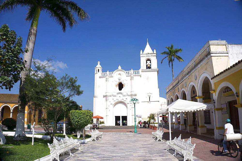 Eglesia San Miguelito, Tlacotalpan, UNESCO World Heritage Site, Mexico, North America - 483-2039