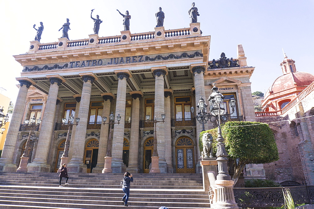 Teatro Juarez, Guanajuato, UNESCO World Heritage Site, Mexico, North America - 483-2047