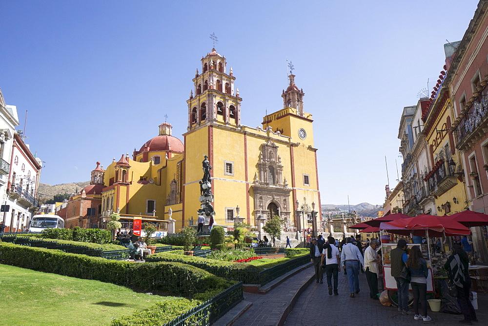 Basilica Colegiata de Nuestra Senora de Guanajuato, Guanajuato, UNESCO World Heritage Site, Mexico, North America - 483-2052