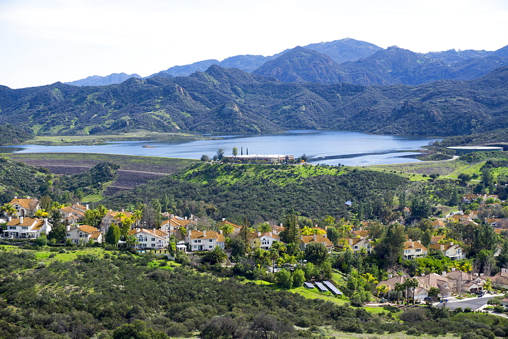 Prime real estate, Santa Monica mountains, California, United States of America, North America - 483-2070