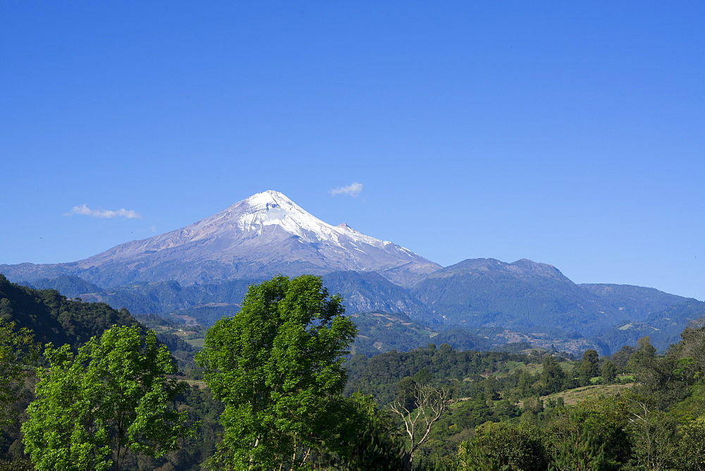 Pico Orizaba, highest in Mexico, 5747 meters, Mexico, North America