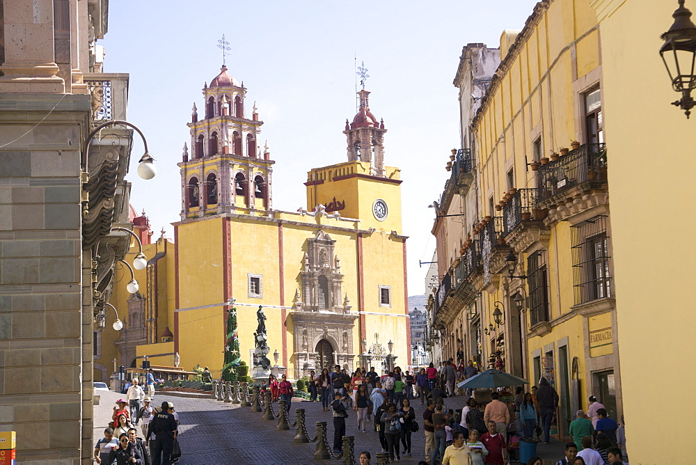 Basilica Collegiata de Nuestra Signora, Guanajuato, UNESCO World Heritage Site, Mexico, North America