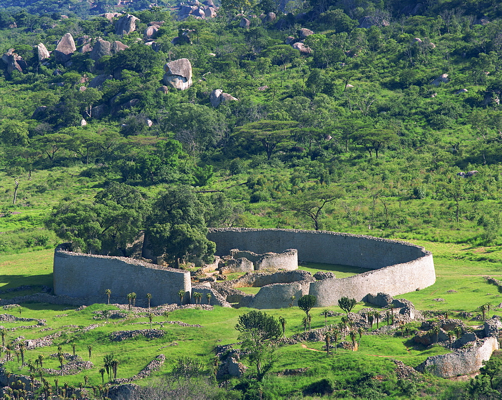 Great Zimbabwe National Monument, UNESCO World Heritage Site, Zimbabwe, Africa