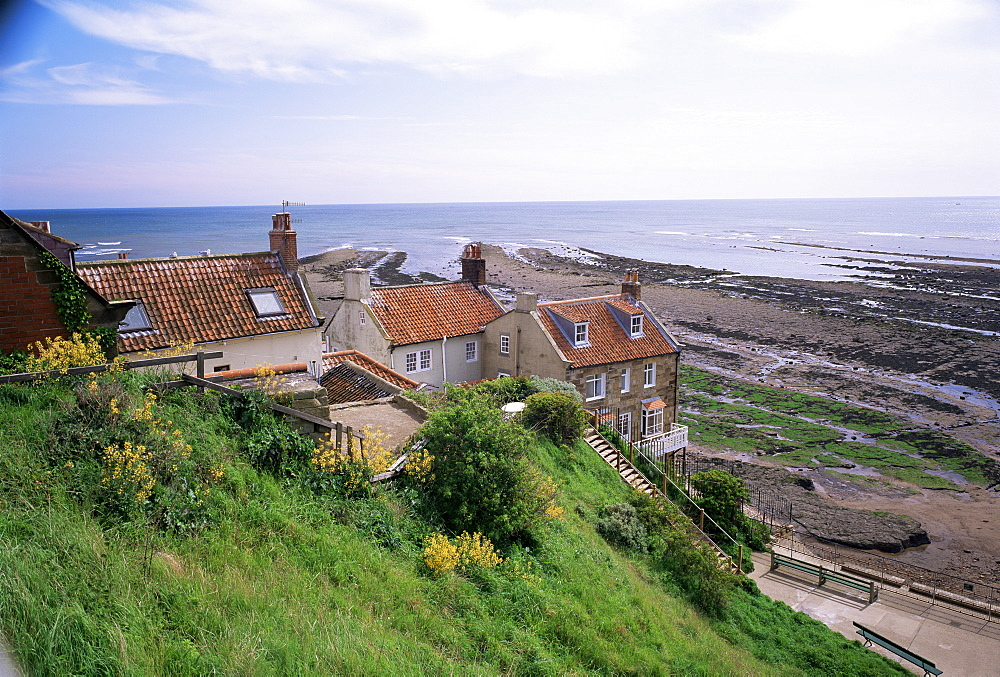 Robin Hood's Bay, North Yorkshire, Yorkshire, England, United Kingdom, Europe