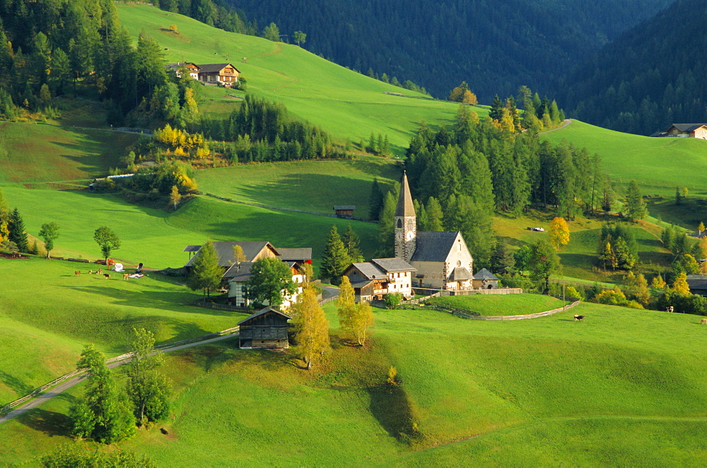 Val di Funes, South Tirol, The Dolomites, Trentino-Alto Adige, Italy, Europe