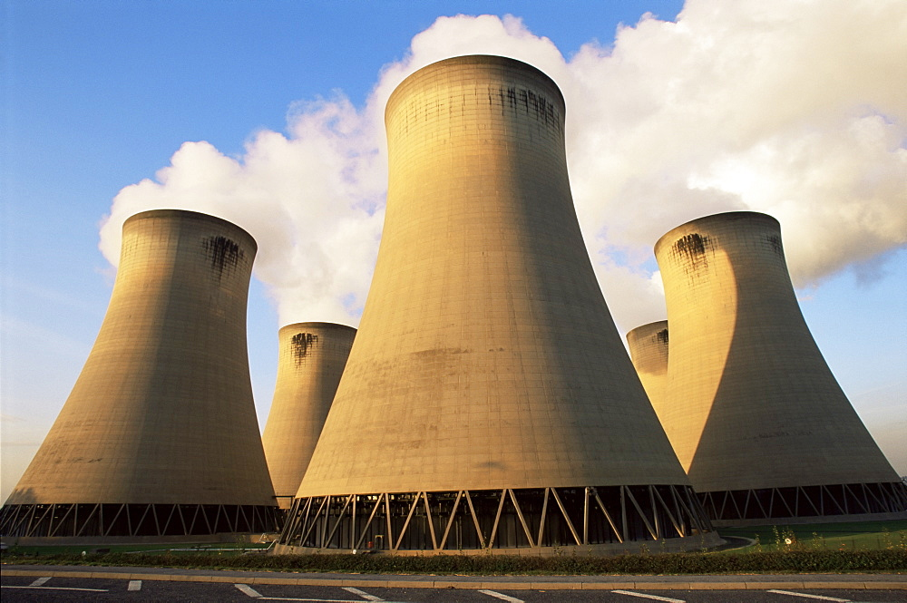 Drax coal fired power station, North Yorkshire, England, United Kingdom, Europe - 485-8420
