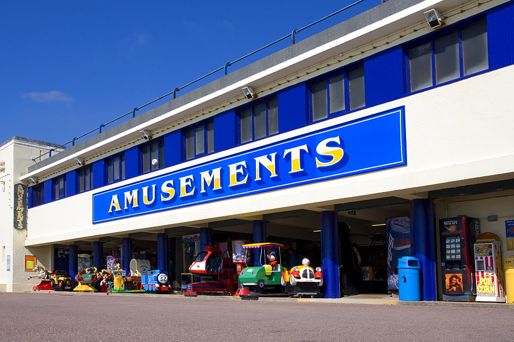 Amusement Arcade, Promenade, Bournemouth, Dorset, England, United Kingdom, Europe