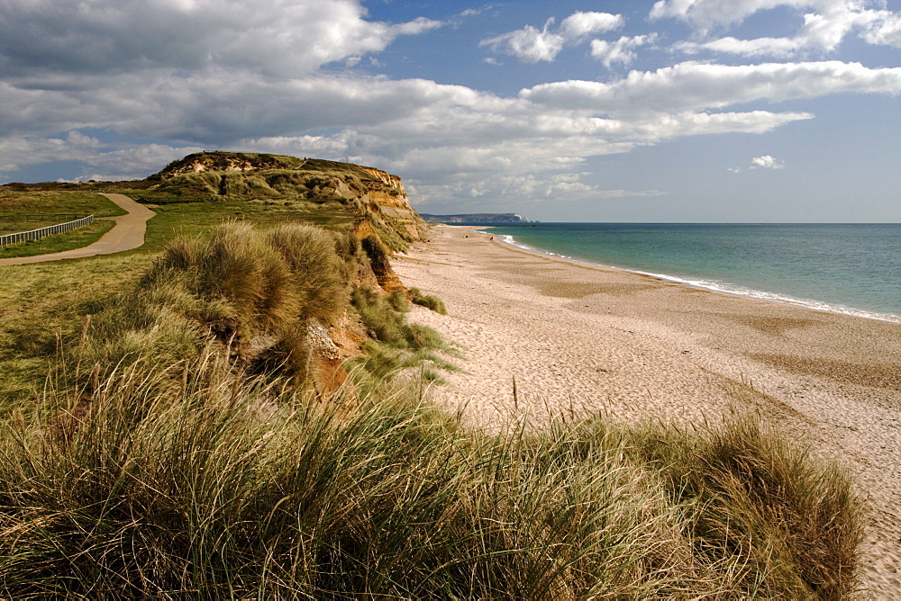 Hengistbury Head, Christchurch Bay, Dorset, England, United Kingdom, Europe - 485-9656