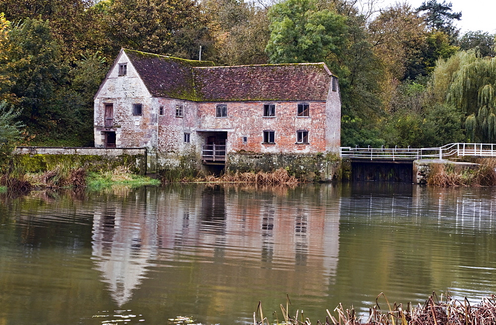 Sturminster Newton Mill and River Stour, Dorset, England, United Kingdom, Europe - 485-9666