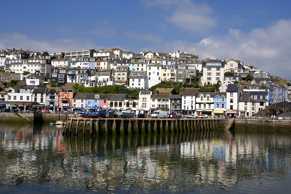 Brixham Quayside, South Devon, England, United Kingdom, Europe - 485-9670