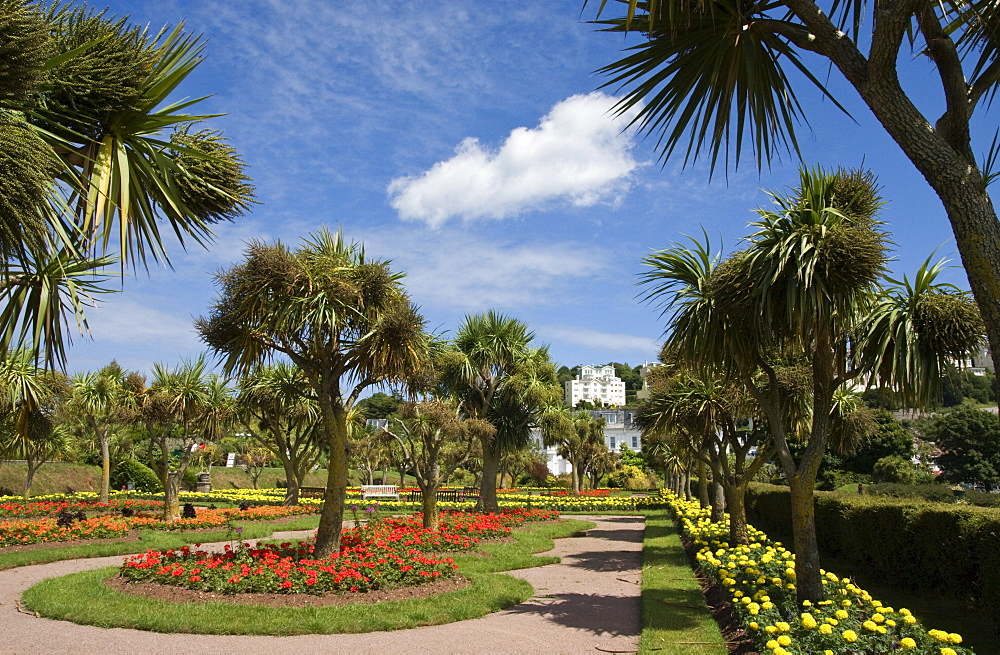 Torquay Gardens, Torquay, South Devon, England, United Kingdom, Europe - 485-9672