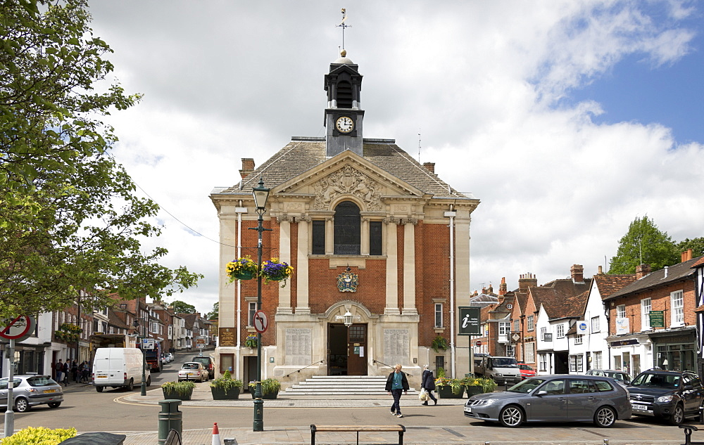 Town Hall, Henley on Thames, Oxfordshire, England, United Kingdom, Europe