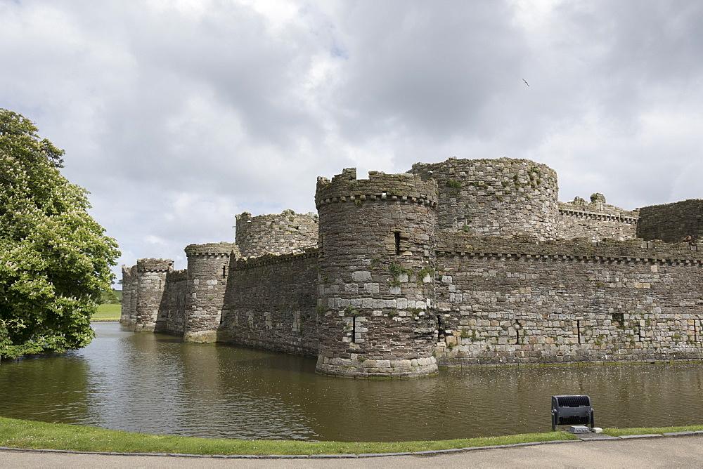 Beaumaris Castle, Anglesey, Wales, United Kingdom, Europe