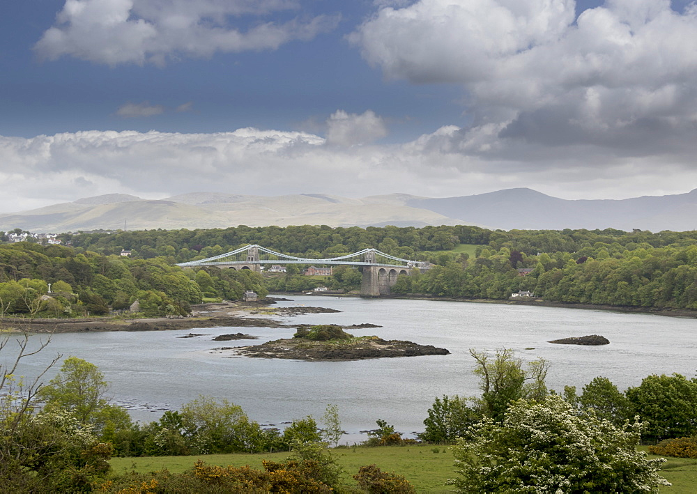 Menai Bridge, Anglesey, Wales, United Kingdom, Europe