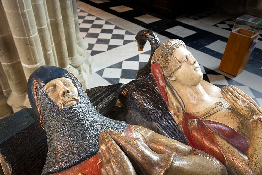 Beauchamp Tomb, Worcester Cathedral, Worcester, England, United Kingdom, Europe - 489-1675