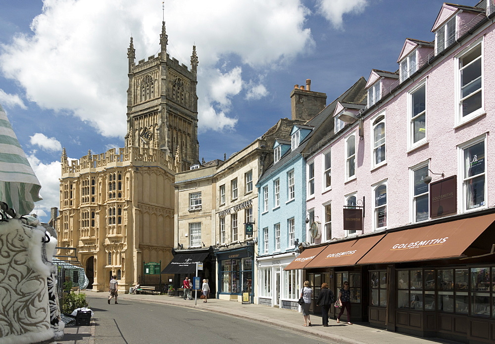 Church of St. John Baptist, Cirencester, Gloucestershire, England, United Kingdom, Europe - 489-1681