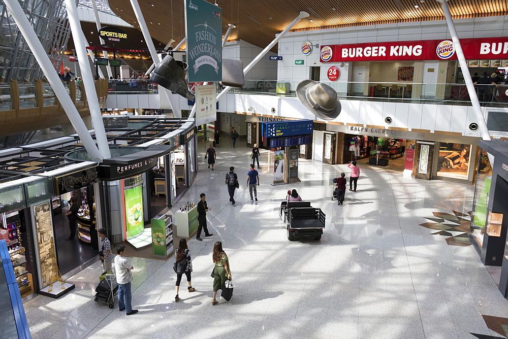 Interior, Kuala Lumpur International Airport, Kuala Lumpur, Malaysia, Southeast Asia, Asia