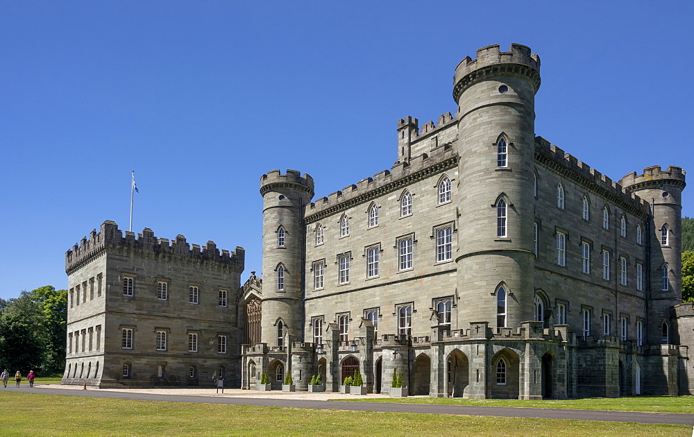 Taymouth Castle, Kenmore, Perthshire, Scotland, United Kingdom, Europe - 489-1765