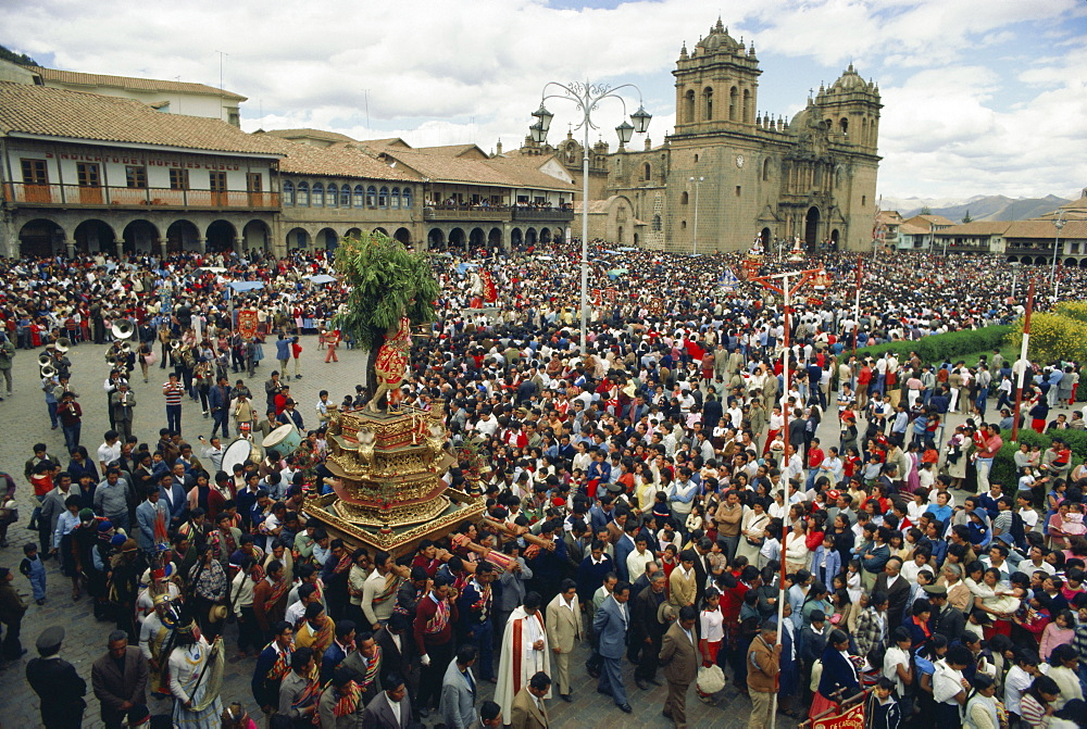 Festival of Corpus Christi, Cuzco, Peru, South America