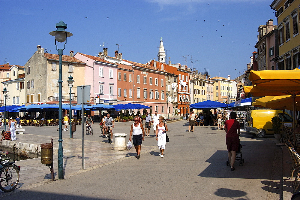 Rovinj - main square (Trg marsala Tita), Istria, Croatia