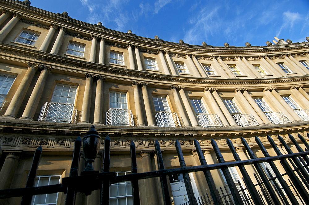 The Circus, Bath, UNESCO World Heritage Site, Avon, England, United Kingdom, Europe