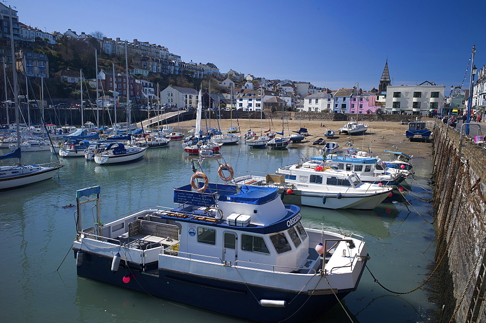 The Harbour, Ilfracombe, Devon, England, United Kingdom, Europe - 492-3527