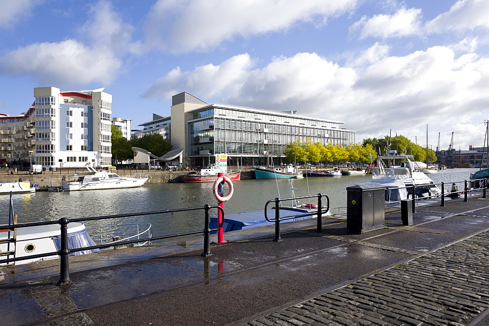 The harbour, Bristol, England, United Kingdom, Europe - 492-3591