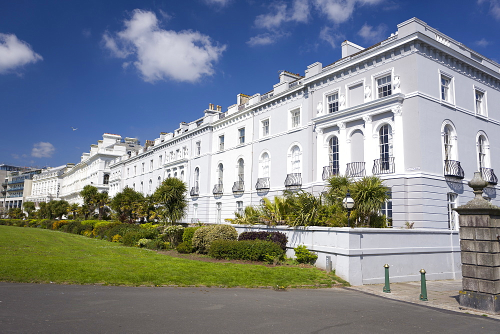 Georgian architecture at the Hoe, Plymouth, Devon, England, United Kingdom, Europe - 492-3595