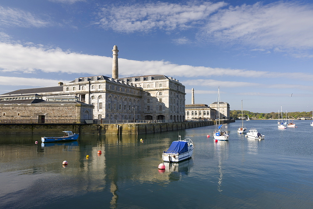 Royal William Yard, Plymouth, Devon, England, United Kingdom, Europe - 492-3597