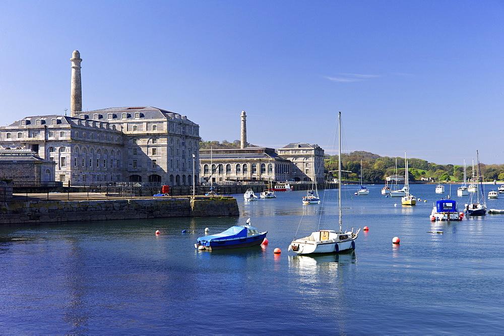 Royal William Yard, Plymouth, Devon, England, United Kingdom, Europe - 492-3600