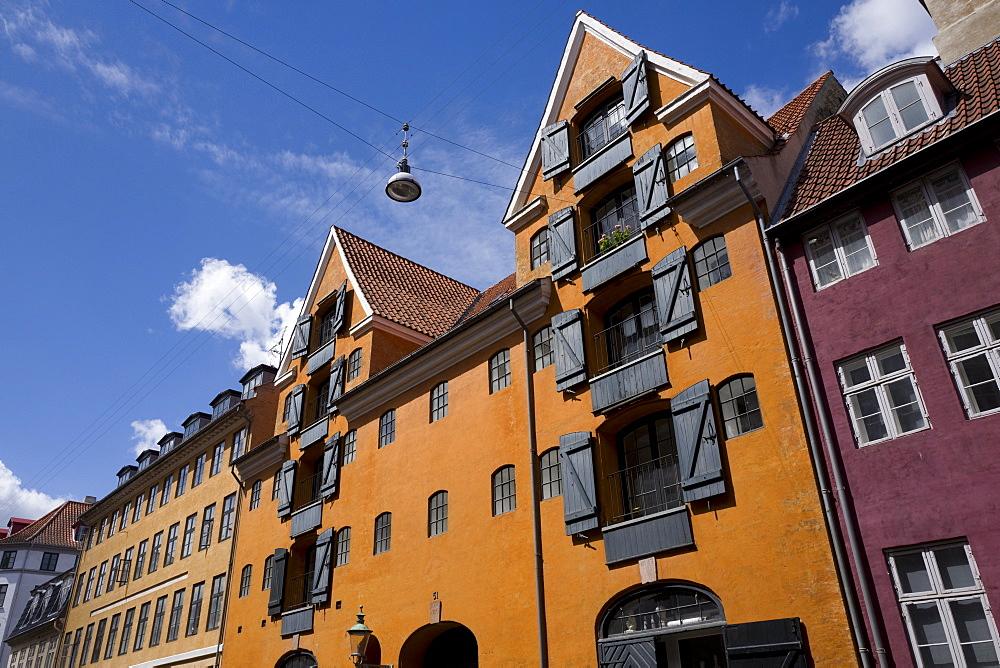 Architecture, Christianshavn, Copenhagen, Denmark, Europe - 492-3603