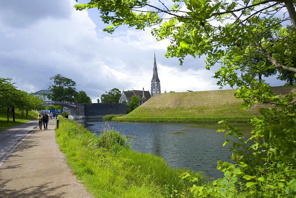Kastellet, Copenhagen, Denmark, Europe - 492-3604