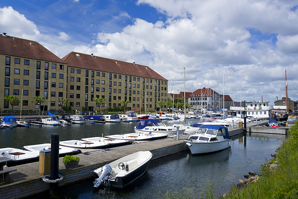 Marina, Christianshavn, Copenhagen, Denmark, Europe