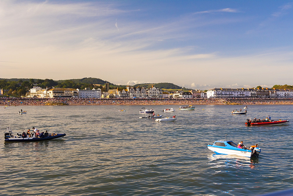 Sidmouth Regatta, Devon, England, United Kingdom, Europe - 492-3614