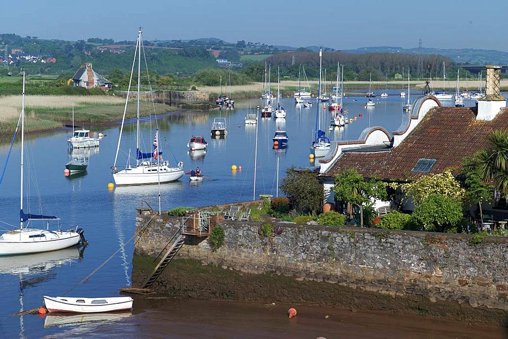 River Exe at Topsham, Devon, England, United Kingdom, Europe - 492-3619