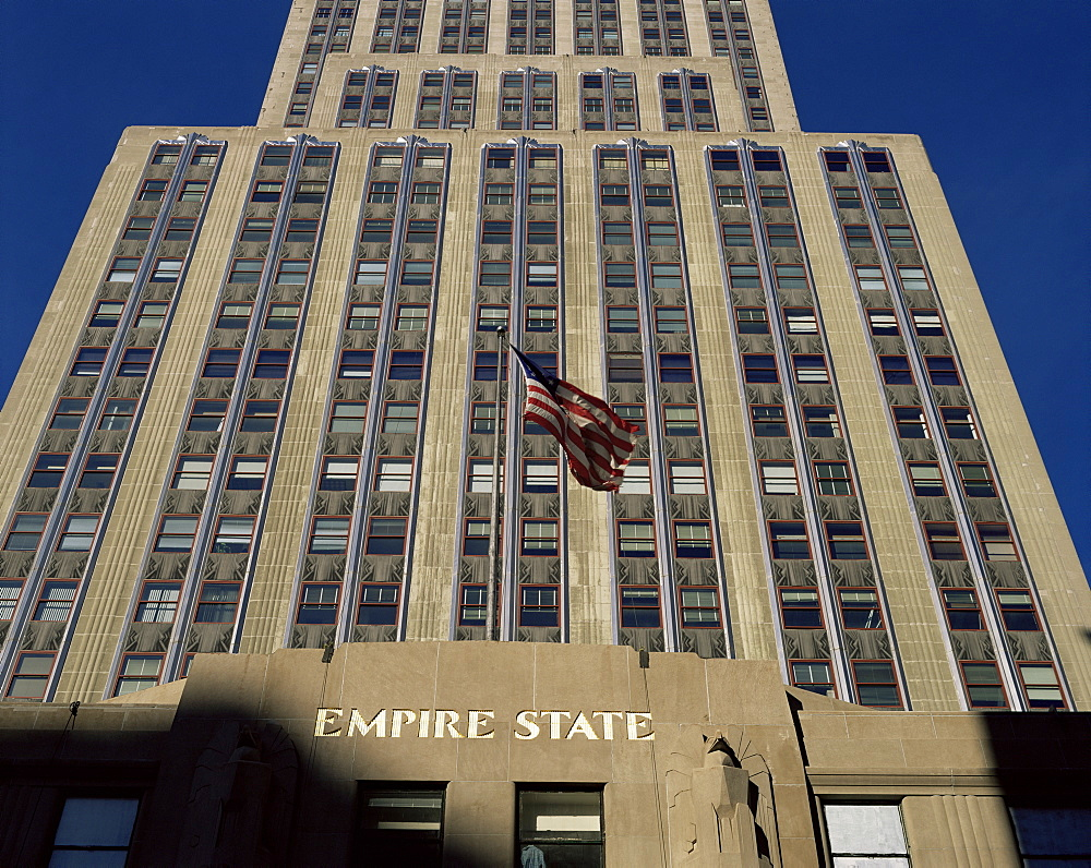 The Empire State Building, New York City, New York State, United States of America, North America