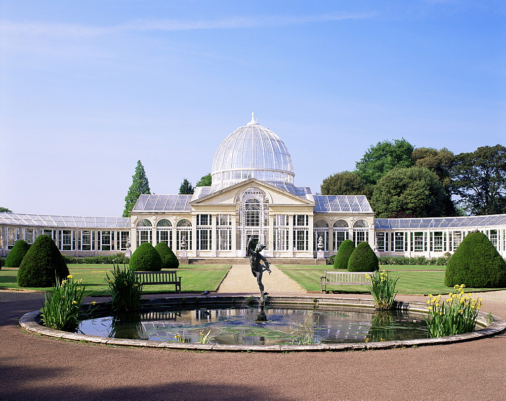The Great Conservatory, Syon House, Isleworth, Greater London, London, England, United Kingdom, Europe
