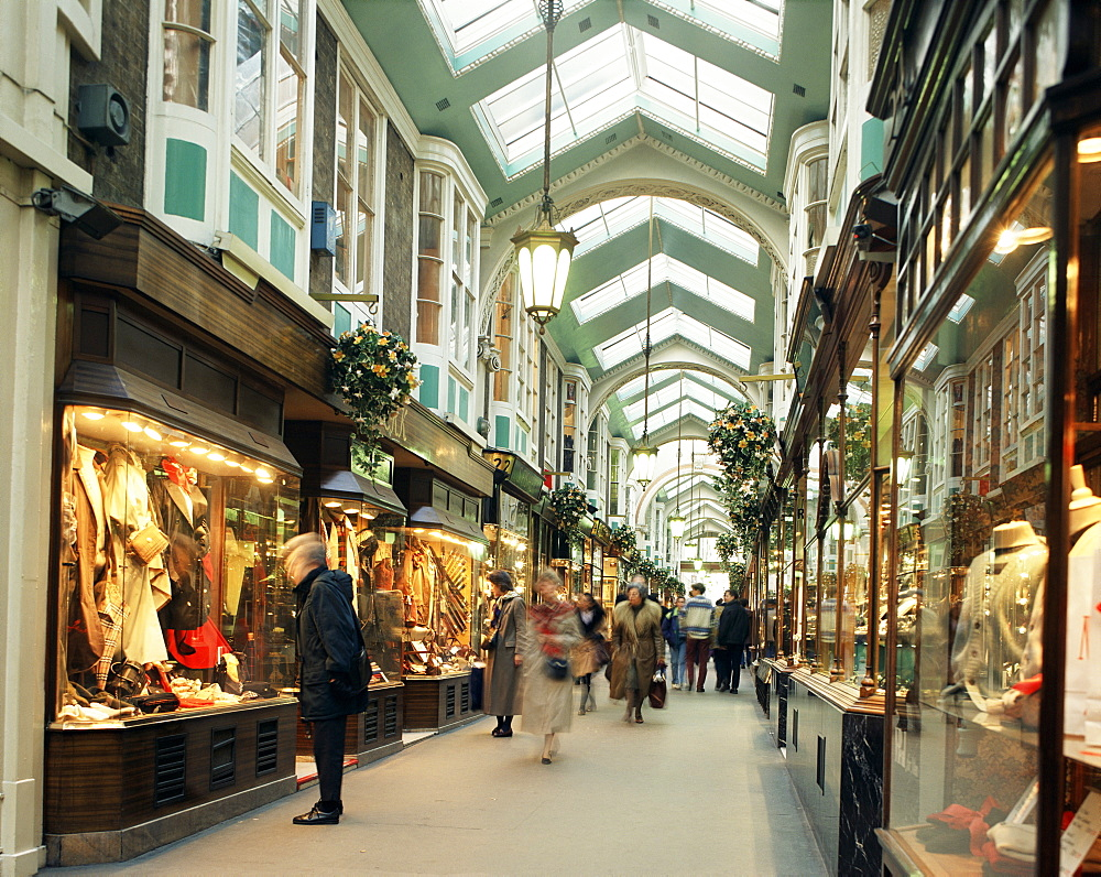 The Burlington Arcade, Piccadilly, London, England, United Kingdom, Europe