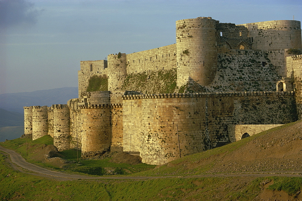 Krak des Chevaliers, UNESCO World Heritage Site, Syria, Middle East - 508-11320