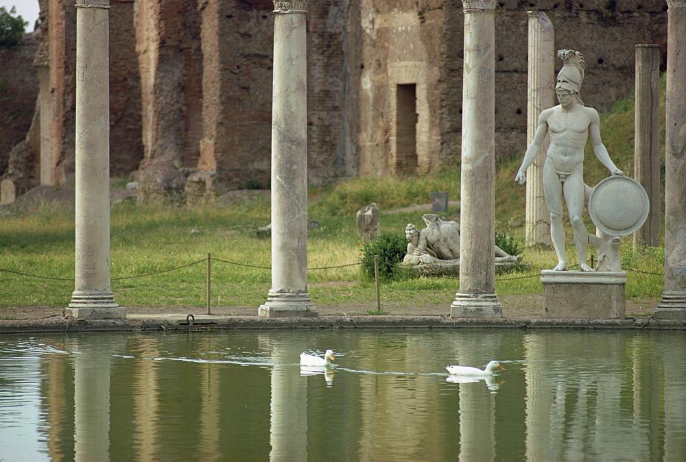 Hadrian's Villa, UNESCO World Heritage Site, Tivoli, Lazio, Italy, Europe - 508-12225
