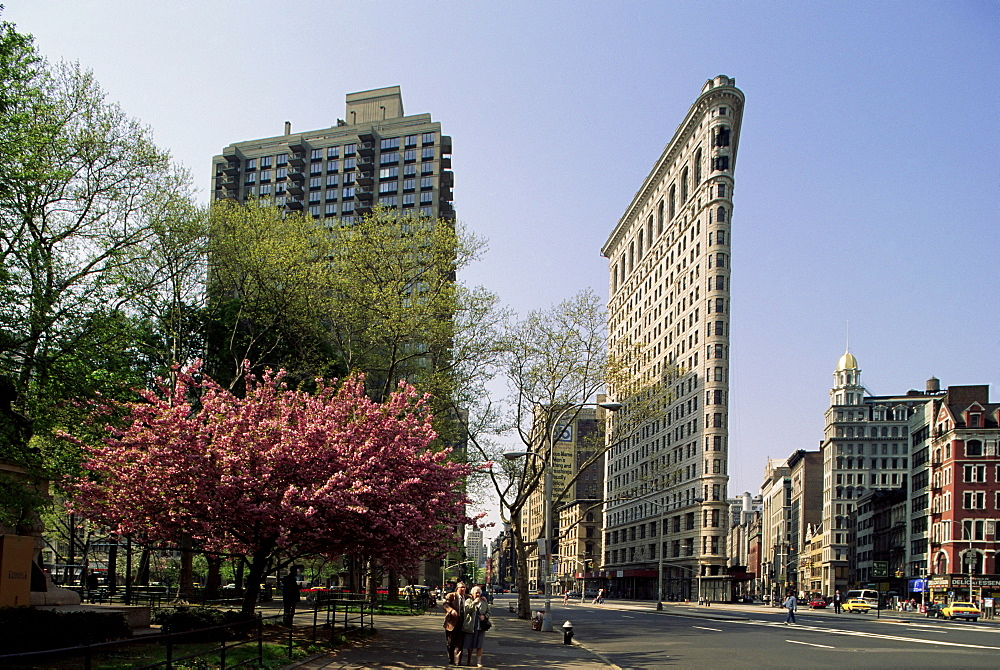 The Flatiron Building, W. 23rd and Broadway, New York, New York State, United States of America, North America - 508-33428