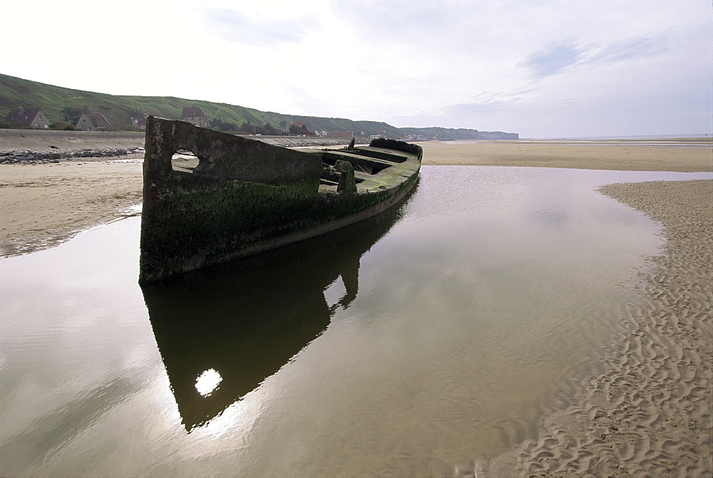 Omaha Beach, Basse Normandie (Normandy), France, Europe